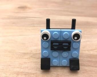 LEGO® Robot Brooch/ Pin Pal/ Beat Bot Pin
