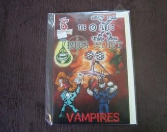 The X-Flies - Bug Hunt  #1 - Vampires - December 1996
