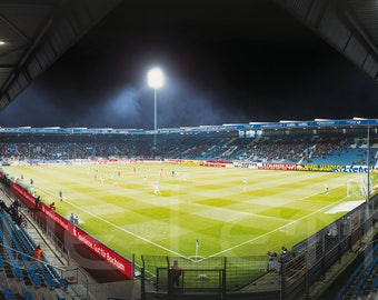 Bochum play Stadium - posters 120 x 50 cm - high-quality FineArtPrint