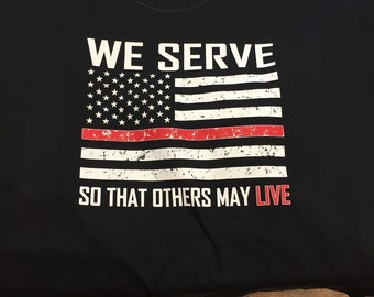 We Serve Fire/Rescue