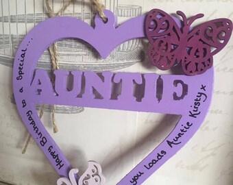 Auntie Hanging Heart