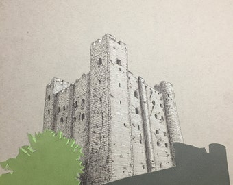 Greetings Card - Rochester Castle