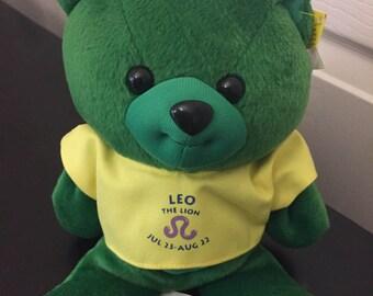 Zodi Bear Leo the Lion Astrology Bear