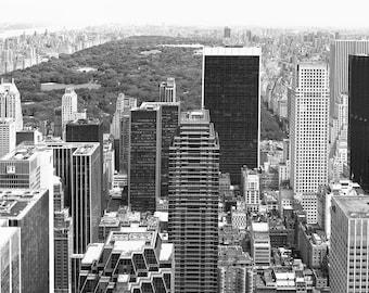Central Park 2012 vom Rockefeller Building