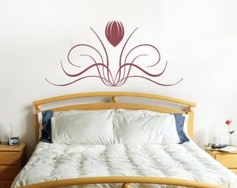 Tulip Vine Vinyl Wall Decal