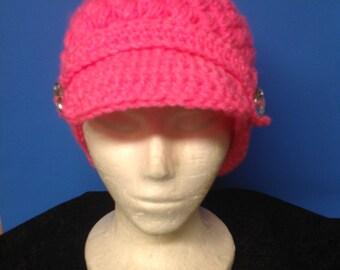Barbee crocheted cap