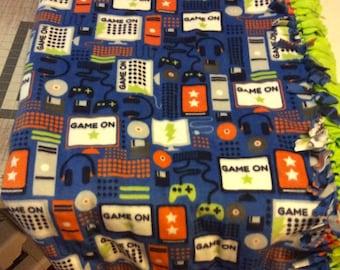 Gamer blanket