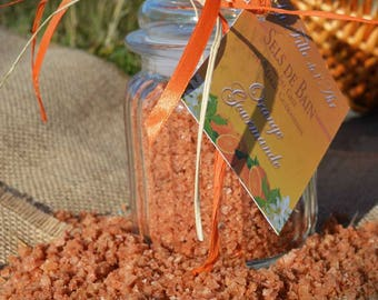 The marshes Guérandais cinnamon Orange bath salts