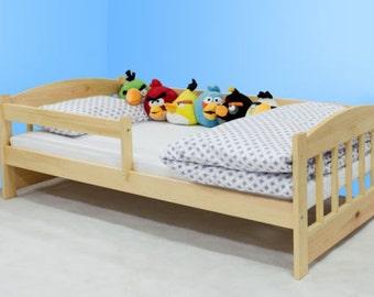 Sturdy junior bed Maia 160x80cm solid wood