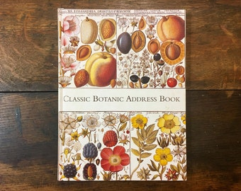 Classic Botanic Address Book