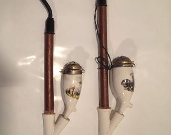 Bavarian porcelain pipe