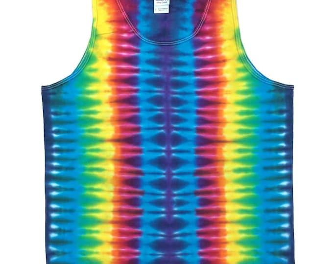 Tie Dye Tank Top - Stripes