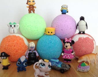 Surprise Bath Bombs - Toy Inside.