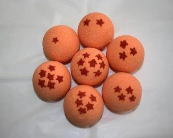 Dragon Ball Z Inspired Bath Bombs