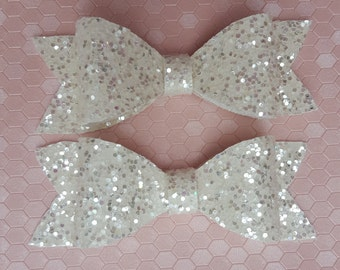 Katie - Glitter Bow Hair Accessories