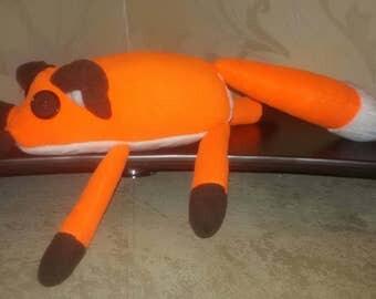 Fox plush handmade