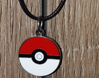 Pokeball Charm Necklace