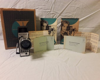 Bell & Howell Electric Eye 8mm Movie Camera