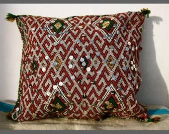 Vintage Moroccan Wedding Berber Cushion