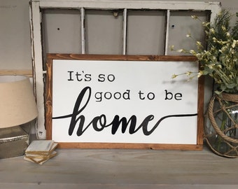 Rustic Wood Home Decor Sign