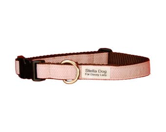 Light Pink Micro Dot Collar *FREE SHIPPING*