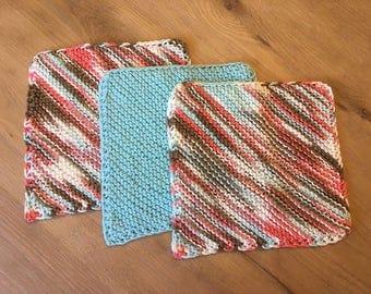 3-pack Dishcloths, Washcloths