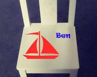 Personalized kids chair - Big bro