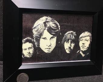 The Doors / post it note art