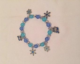 Winter Themed Charm Bracelet