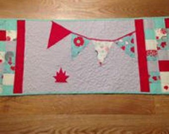 Table runner, Canadiana, O Canada, Mother's Day, Birthday