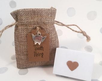 Handmade Tooth Fairy Bag & Matchbox