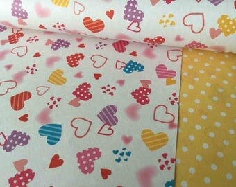 Cute hearts Chiyogami paper!