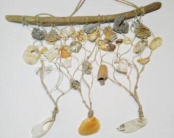 Nautical Seashell Mobile