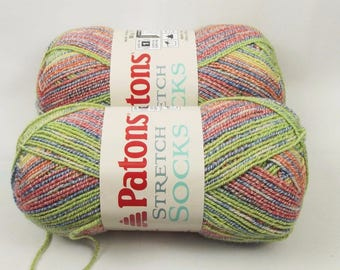 Patons Stretch Yarn Cherry Sours