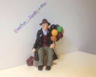 THE BALLOON MAN Street Seller Figurines from Royal Dalton