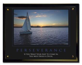 Perseverance Plaque