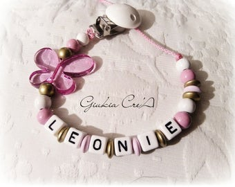 Home personalized pacifier (Butterfly)