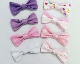 Single bow clips