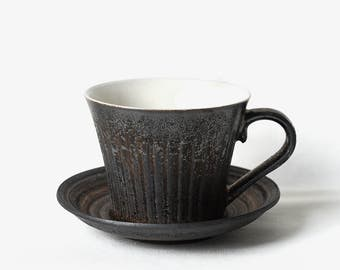 Rusty Glaze Coffee Cup Set