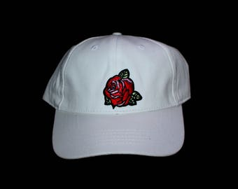Rose Embroidery Hat