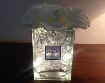 Chanel Inspired vase