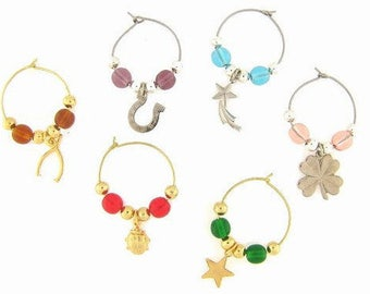 Lucky Charms Drink Charms, Wine Glass Charms