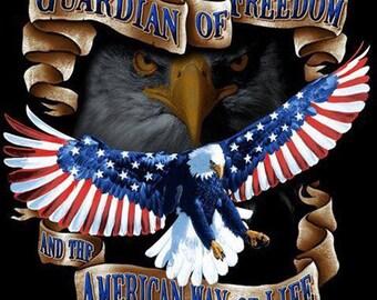 American Way Of Life Cross Stitch Pattern***LOOK***