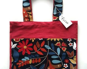 Shopping bag with Roses