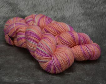 King Peppy on Terra 10ply - Hand dyed Worsted 100% Superwash Merino