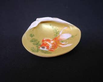 """Kaiawase(Goldfish B) - """"Kaiawase"""" is a Japanese traditional game"""