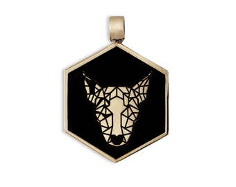 Bronze Bull Terrier Dog Tag