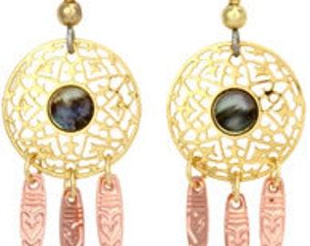 Copper Earring
