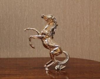 Leader Argenti silver horse statue