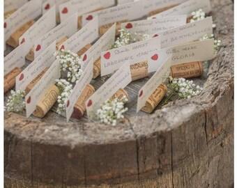 180 Wine Cork Placecard Holders